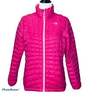 The North Face Girl's Pink Puffer Jacket XL